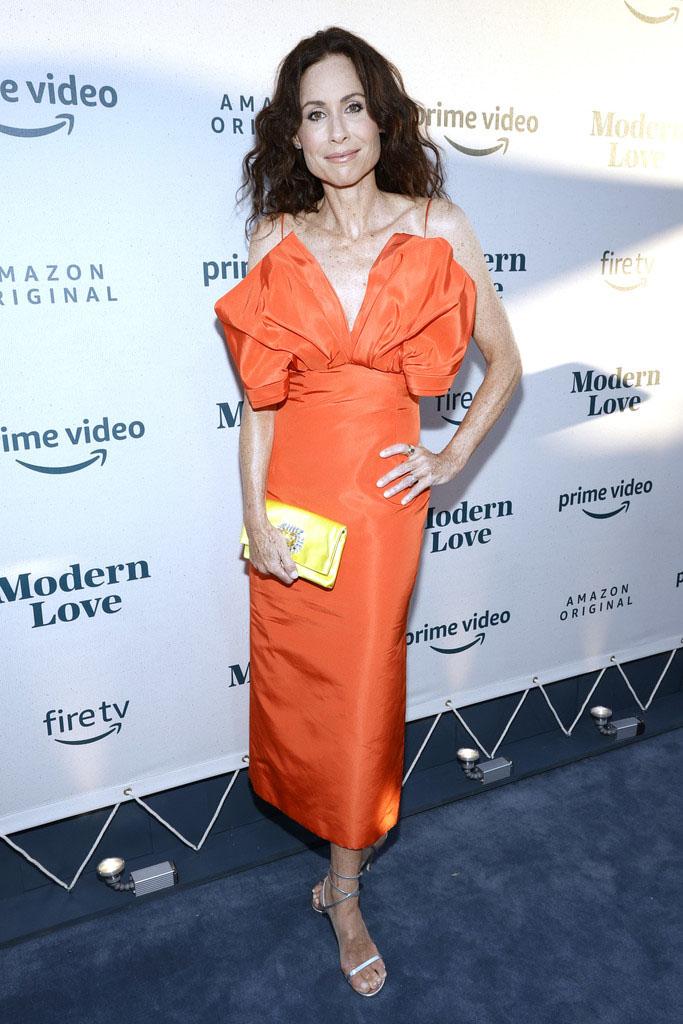 Minnie Driver Wore Carolina Herrera To The 'Modern Love' Season 2 Special Reception