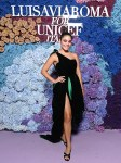 Vanessa Hudgens Wore Alexandre Vauthier Haute Couture To The LuisaViaRoma for UNICEF Event