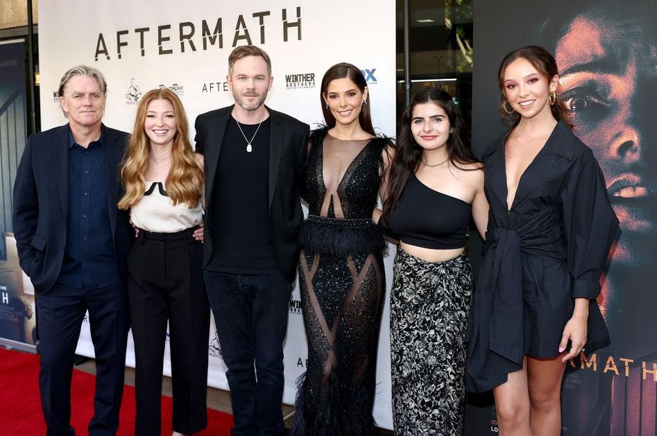 Ashley Greene Wore Berta To The 'Aftermath' LA Premiere
