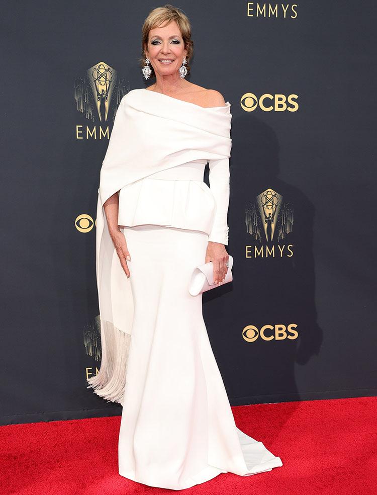 Allison Janney Wore Azzi & Osta To The 2021 Emmy Awards
