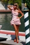 Anna Dello Russo Wore Ermanno Scervino On The Opening Day Of The 2021 Venice Film Festival