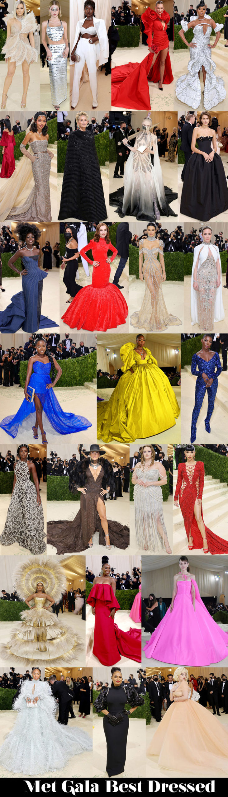 Who Was Your Best Dressed At The 2021 Met Gala?