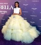 Camila Cabello Wore Christian Siriano To The 'Cinderella' Miami Premiere