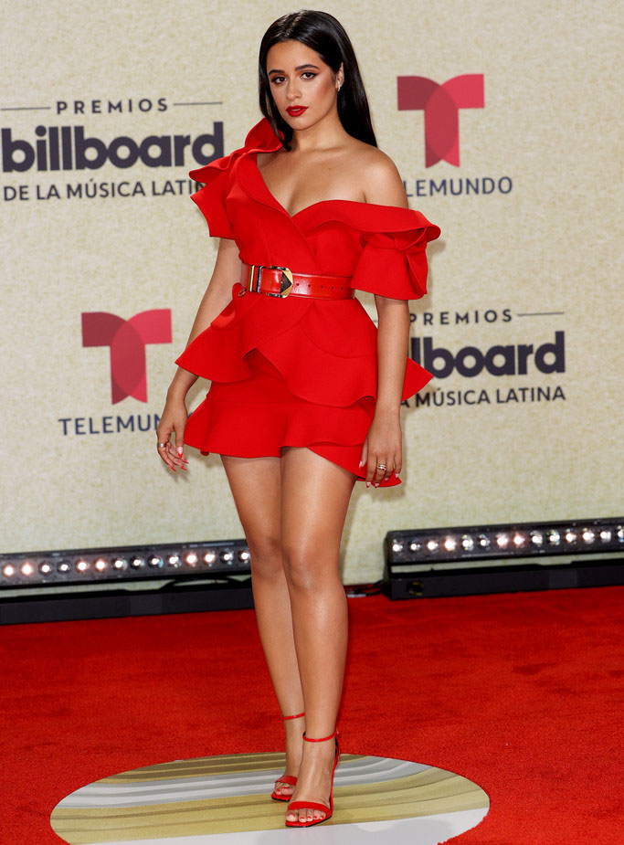 Camila Cabello Wore Elie Saab Haute Couture To The 2021 Billboard Latin Music Awards