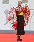 Cynthia Erivo Wore Schiaparelli Haute Couture To The 'Dune' Venice Film Festival Premiere