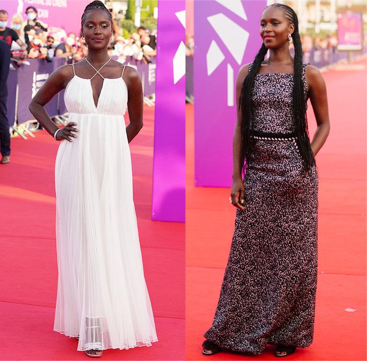 Fatou N'Diaye in Dior & Chanel  2021 Deauville American Film Festival
