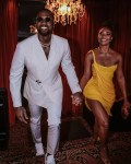 Gabrielle Union-Wade Wore Cong Tri Celebrating Her Wedding Anniversary