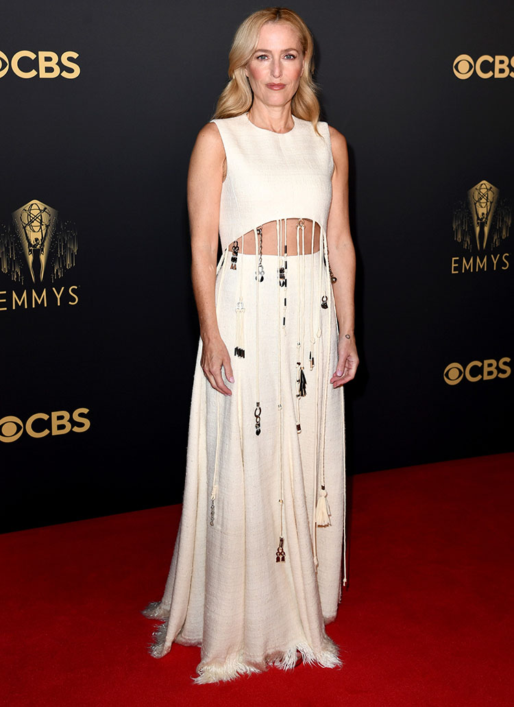Gillian Anderson Wore Chloe To The 2021 Emmy Awards