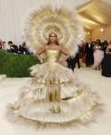 Iman Wore Dolce & Gabbana x Harris Reed To The 2021 Met Gala