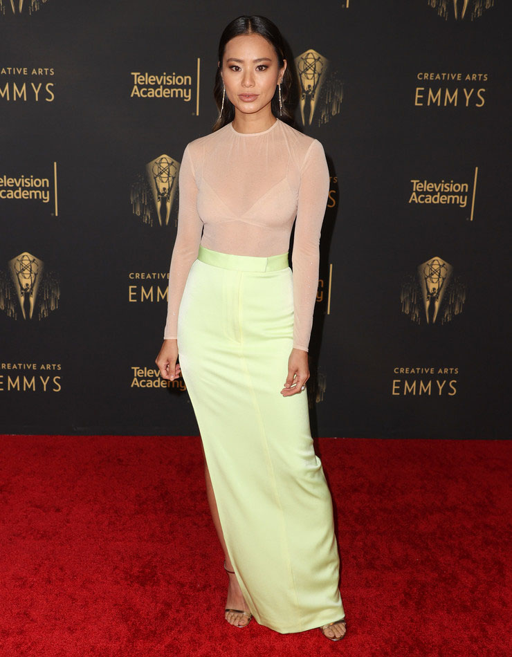 Jamie Chung in LaPointe - 2021 Creative Arts Emmys