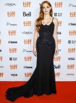 Jessica Chastain Wore Givenchy Haute Couture To 'The Forgiven' Toronto  Film Festival Premiere