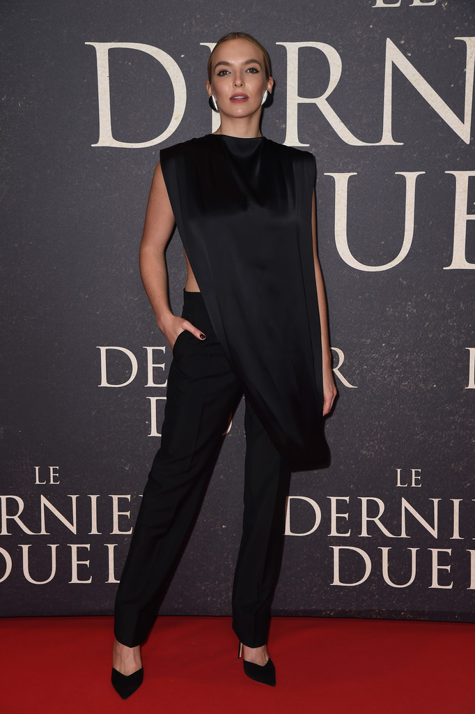 Jodie Comer Wore Givenchy To 'The Last Duel' Paris Premiere