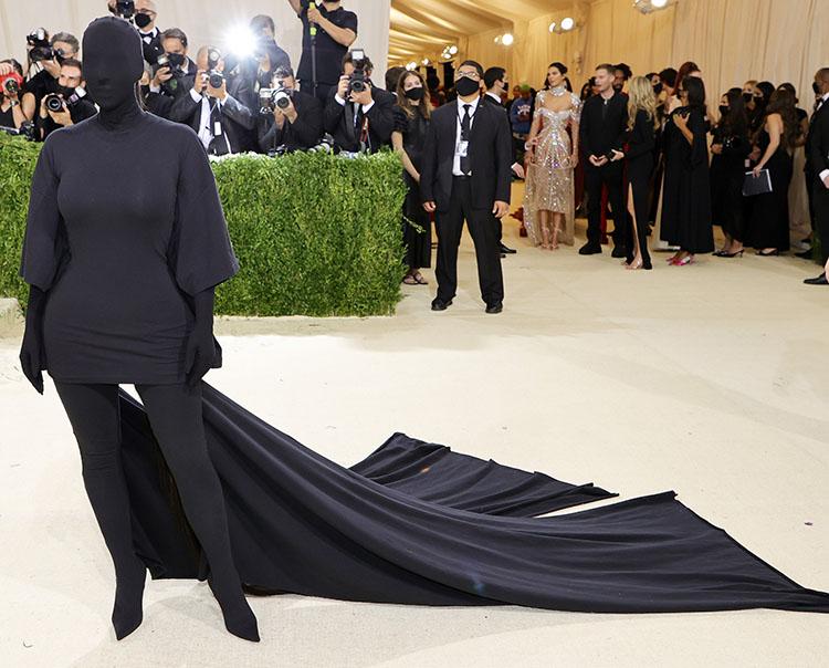 Kim Kardashian in Balenciaga - 2021 Met Gala
