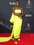 Michaela Coel Wore Christopher John Rogers To The 2021 Emmy Awards