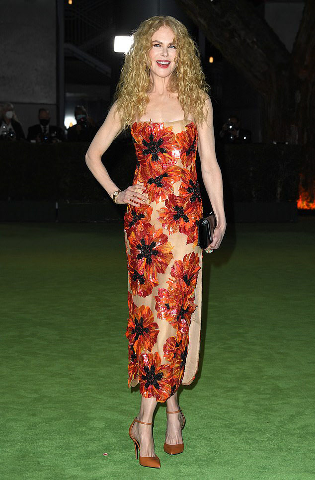 Nicole Kidman Wore Rodarte To The Academy Museum of Motion Pictures Opening Gala