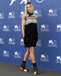 Rebecca Ferguson Wore Louis Vuitton & Christian Dior Haute Couture For The 'Dune' Venice Film Festival Photocall & Premiere