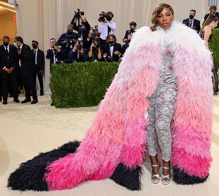 Serena Williams in Gucci 2021 Met Gala