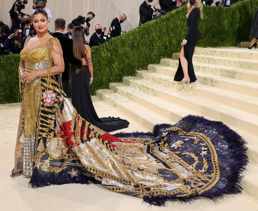 Sudha Reddy Wore Falguni Shane Peacock Haute Couture To The 2021 Met Gala