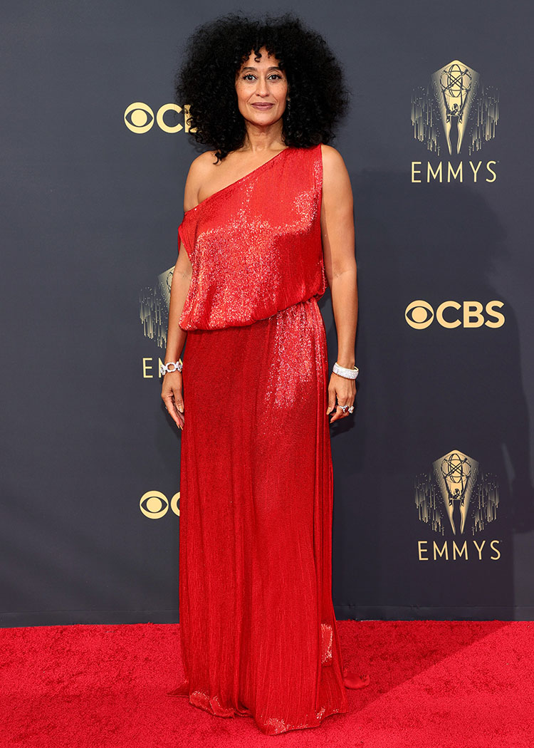 Tracee Ellis Ross Wore Valentino Haute Couture To The 2021 Emmy Awards
