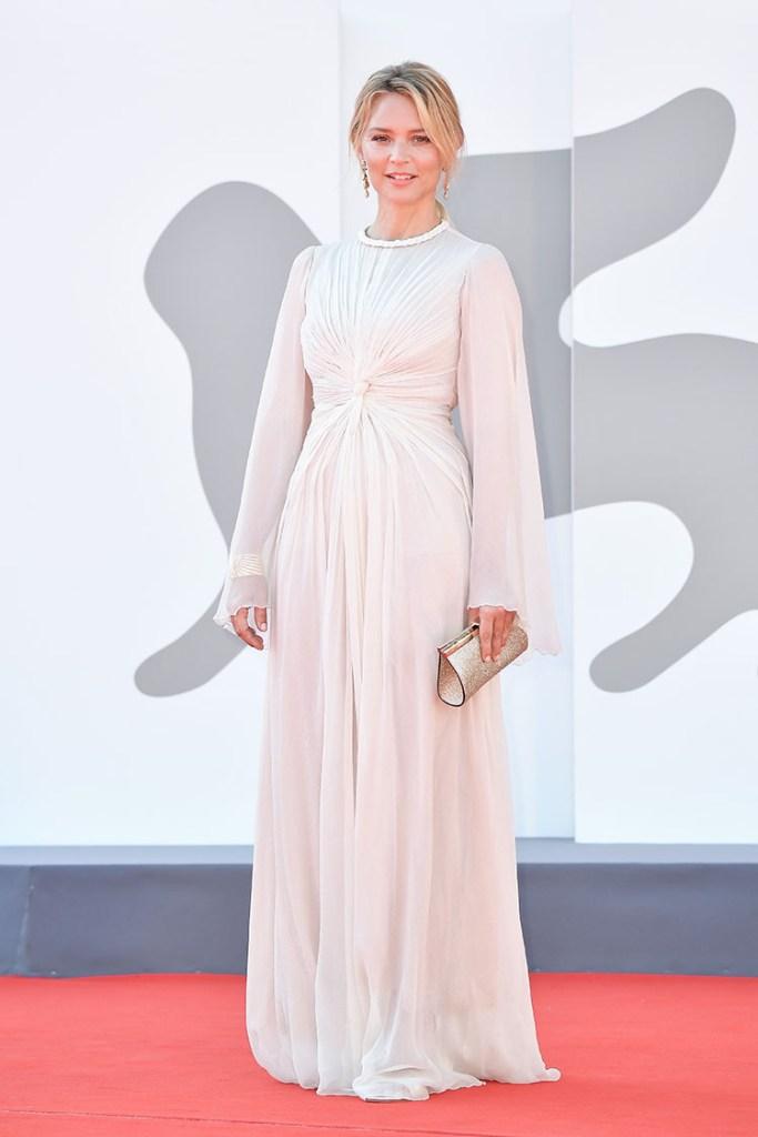 Virginie Efira Dior Haute Couture Venice Film Festival