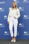 Virginie Efira Wore Dior & Dior Haute Couture On The Opening Day Of The 2021 Venice Film Festival