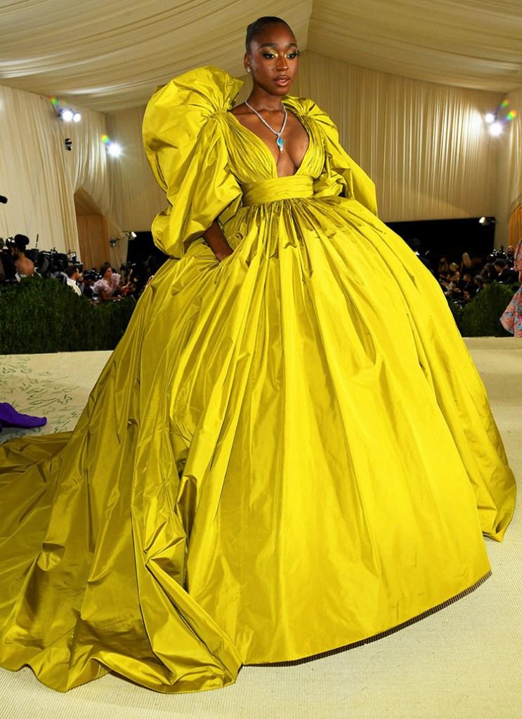 Normani in Valentino Haute Couture