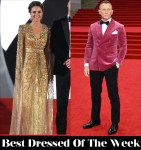 Best Dressed Of The Week - Catherine, Duchess of Cambridge In Jenny Packham & Daniel Craig In Anderson & Sheppard