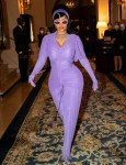 Cardi B Wore Richard Quinn To The Messika by Kate Moss High Jewellery Fashion Show