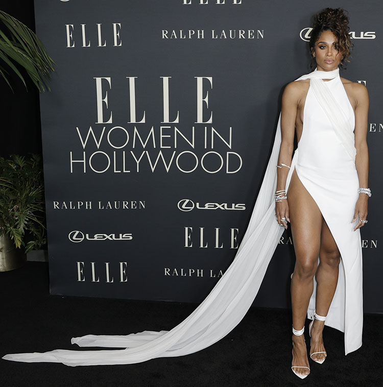Ciara Wore Mônot To ELLE's Women In Hollywood Celebration