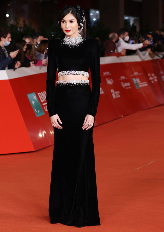 Gemma Chan Wore Miss Sohee To The 'Eternals' Rome Film Festival Premiere