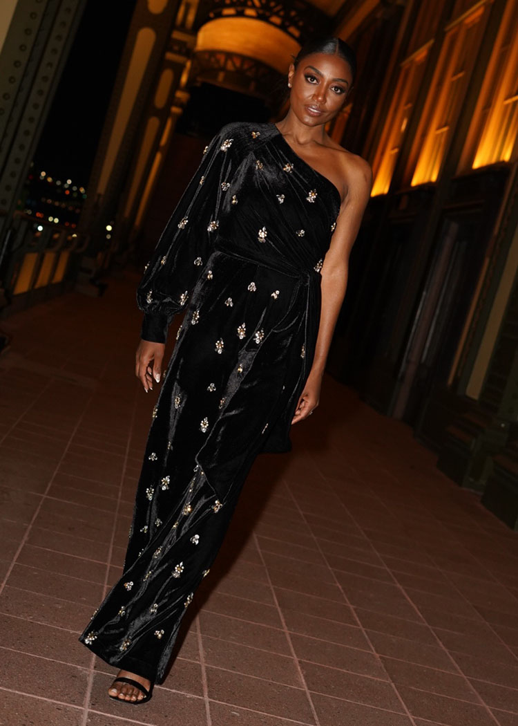 Patina Miller Wore PatBo To The Save Venice Young Friends Dinner