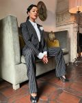 Tessa Thompson Wore Alexandre Vauthier Haute Couture & Giambattista Valli Promoting 'Passing'