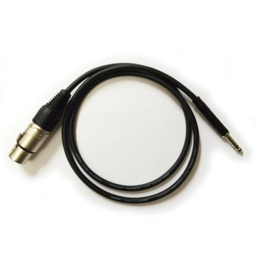 small resolution of female xlr to tt cable 4