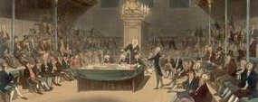 The House of Commons - Clickable Image