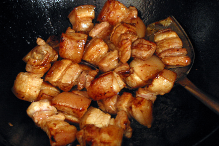 Caramelizing Pork Belly