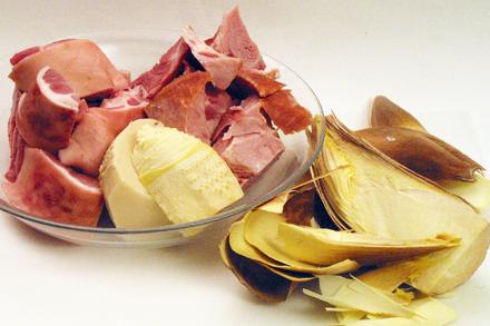 Ham, Fresh Pork Shank and Winter Bamboo Shoots