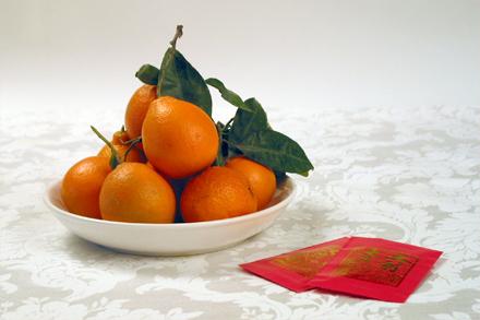 Chinese New Year Tangerine