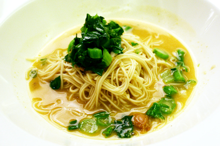 Stewed Noodles with Baby Abalones