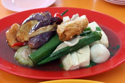 Yong Tau Foo in Ampang