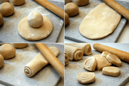 Rolling Chinese Pastry Dough