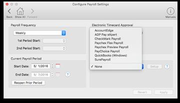 Virtual TimeClock Payroll Software and Online Payroll Integration