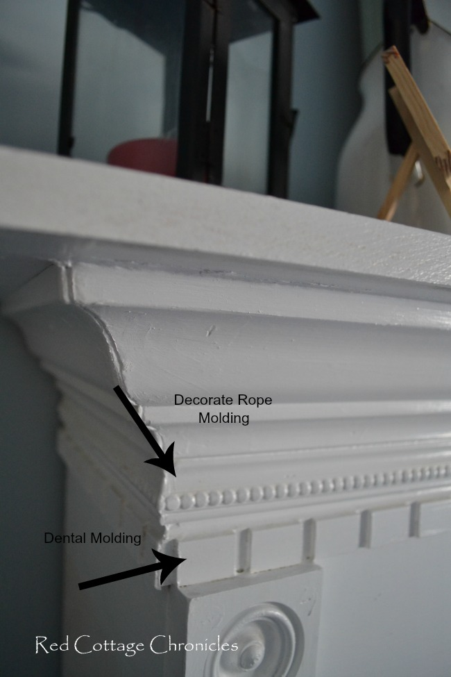 fireplace moldings