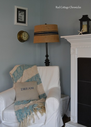 Pottery Barn Inspired Lamp