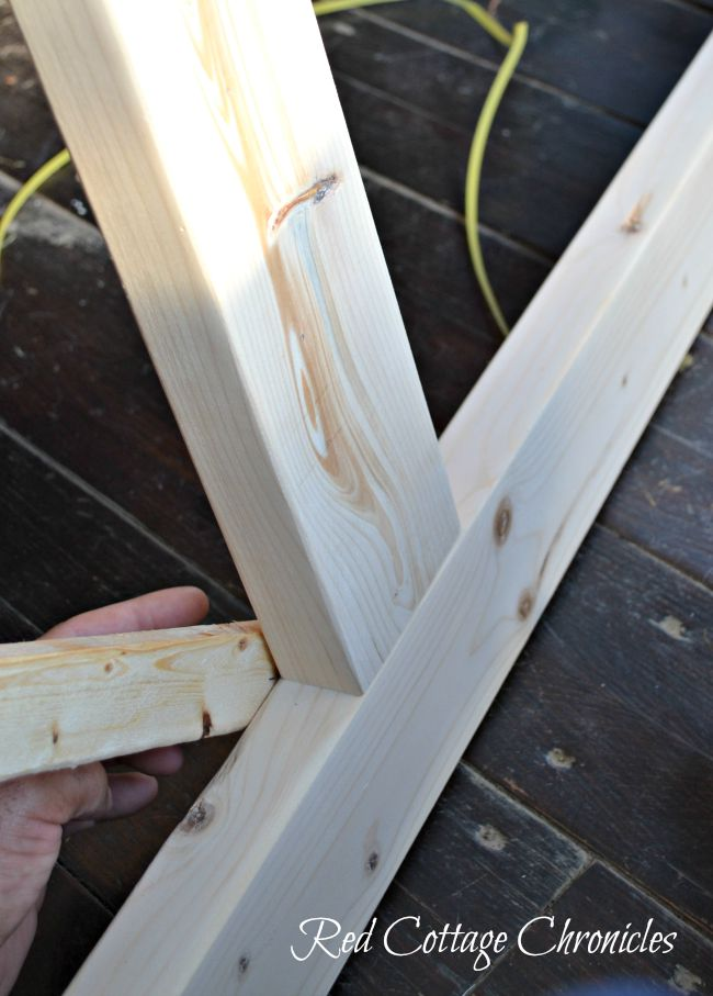 Wood Screen Door DIY