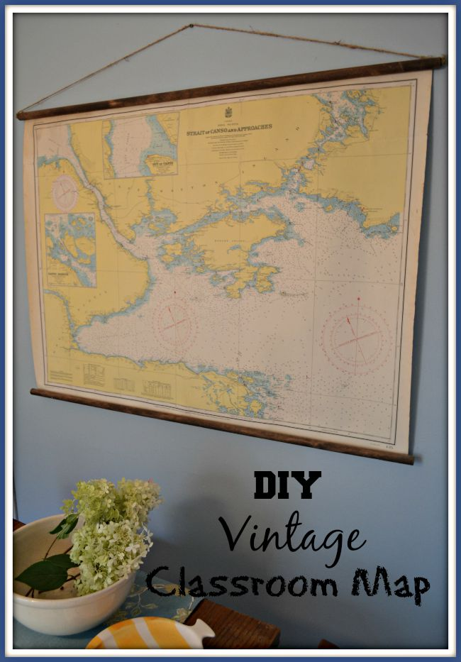 Vintage Mariners Map
