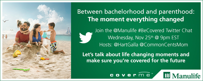 Be covered with Manulife financial insurance