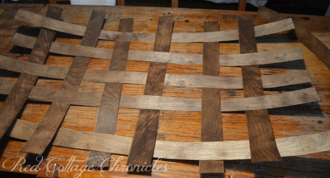 Birch Veneer DIY Tobacco basket tutorial