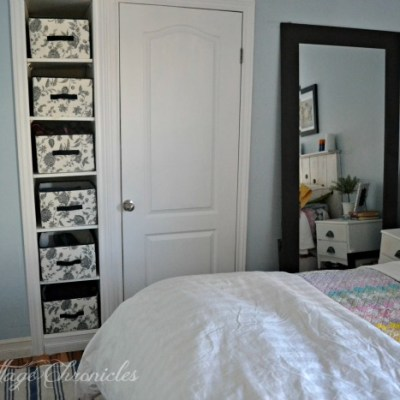 Surprising Storage Solution for a Small Bedroom