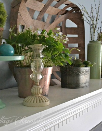 Spring Mantel Style