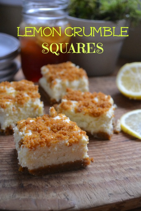 A fresh lemon square to help you spring head into warmer weather